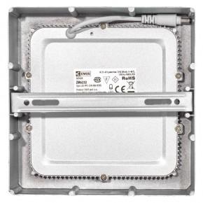 Plafony - oprawa led kwadratowa 12w ip20 neutralna biel emos - 1539067150