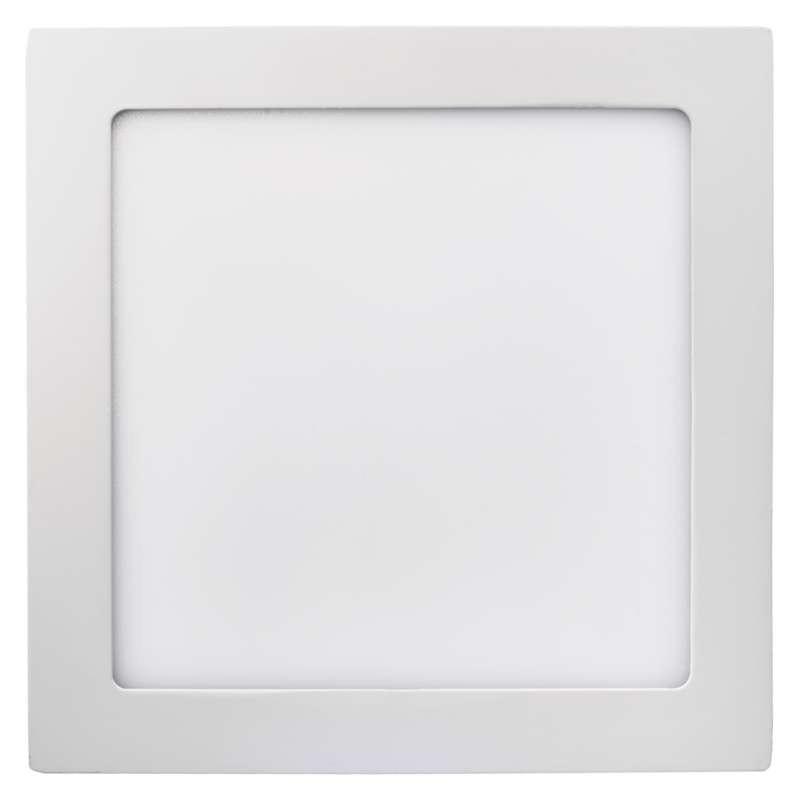 Plafony - oprawa led kwadratowa 18w ip20 ciepła biel emos - 1539061070 firmy EMOS