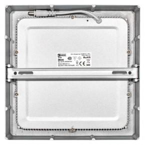 Plafony - oprawa led kwadratowa 18w ip20 neutralna biel emos - 1539067160
