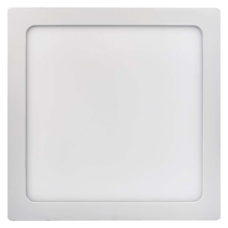 Plafony - oprawa led kwadratowa 24w ip20 ciepła biel emos - 1539061080 firmy EMOS