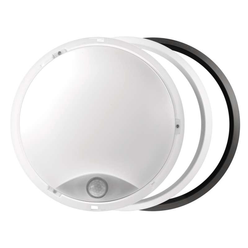 Plafony - oprawa led okrągła pir 14w ip54 ciepła biel emos - 1539071240 firmy EMOS