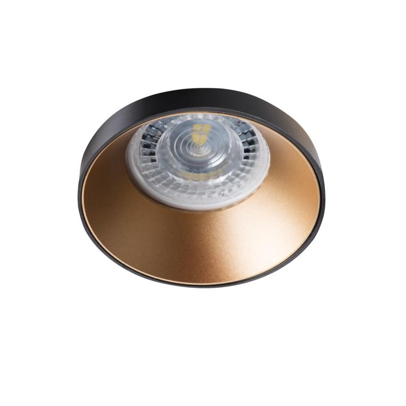 Oprawy-sufitowe - okrągła oprawa sufitowa czarno złota simen dso b/g kanlux firmy KANLUX