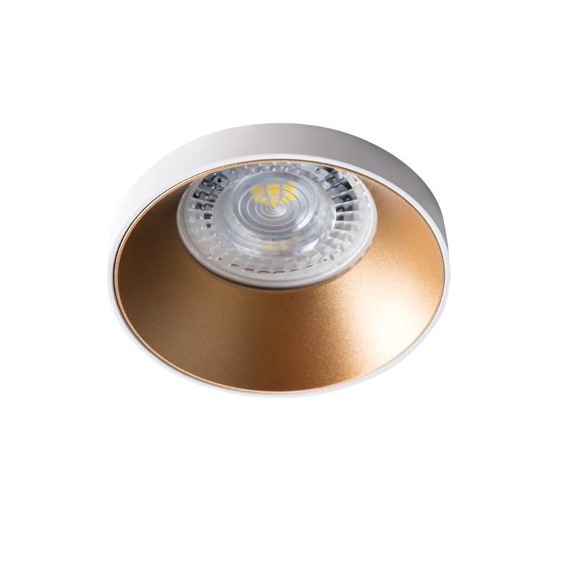 Oprawy-sufitowe - sufitowa oprawa punktowa biało-złota simen dso w/g kanlux firmy KANLUX