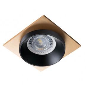 Oprawy-sufitowe - pierścień oprawy punktowej czarno-złoty simen dsl b/b/g kanlux