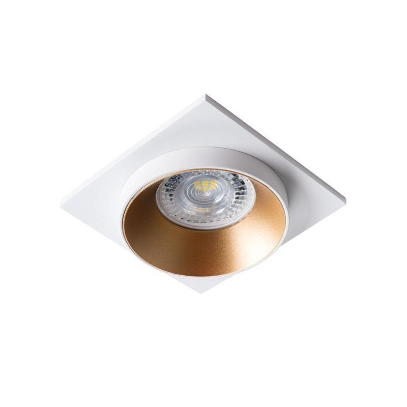 Oprawy-sufitowe - nowoczesna oprawa sufitowa max 35w gu10 simen dsl w/g/w kanlux firmy KANLUX