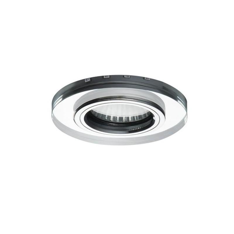 Oprawy-sufitowe - szklane oczko sufitowe z chłodno-białym paskiem led soren o-sr cw kanlux firmy KANLUX