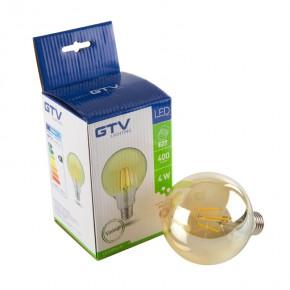 Gwint-trzonek-e27 - żarówka dekoracyjna led vintage ld-g95fv4-30 g95 e27 4w-36w 400lm 360° 3000k energy a+ gtv