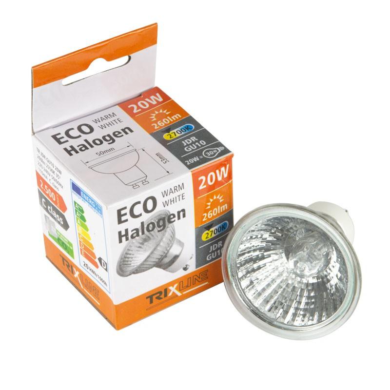 Gwint-trzonek-gu10 - żarówka halogenowa gu-10/20w 2700k 230v trixline firmy TRIXLINE