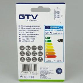 Gwint-trzonek-g4 - żarówka led g4 o mocy 5w-37w ciepła 3000k 420lm 12v dc a+ ld-g4p50w-30-e gtv
