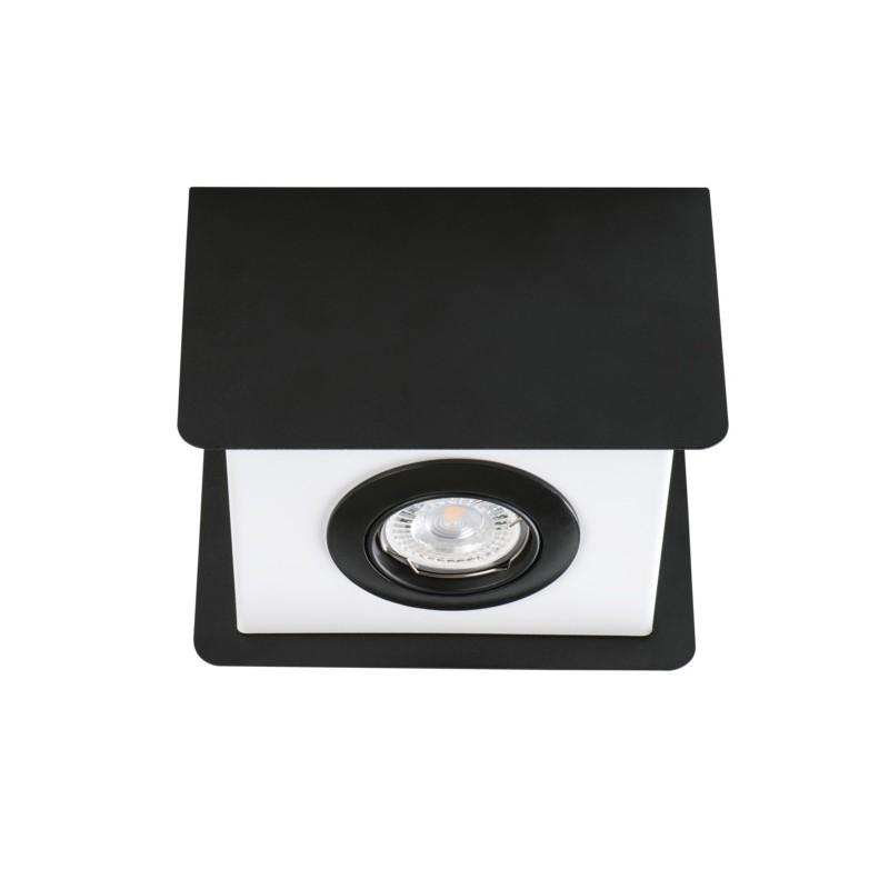 Oprawy-sufitowe - natynkowa oprawa sufitowa gu10 torim dlp-50 b-w kanlux firmy KANLUX
