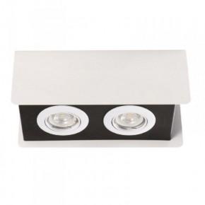 Oprawy-sufitowe - oświetlenie sufitowe 2xgu10 torim dlp-250 w-b kanlux