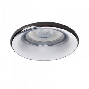 Oprawy-sufitowe - punktowa oprawa oświetleniowa natynkowa antracyt/chrom elnis s a/c kanlux