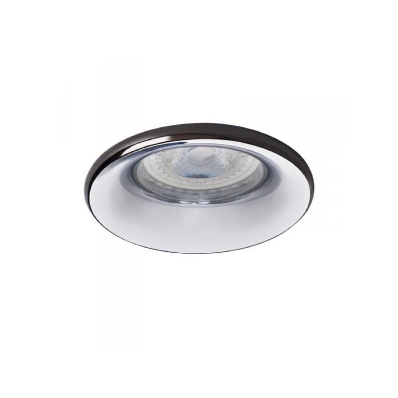 Oprawy-sufitowe - punktowa oprawa oświetleniowa natynkowa antracyt/chrom elnis s a/c kanlux firmy KANLUX