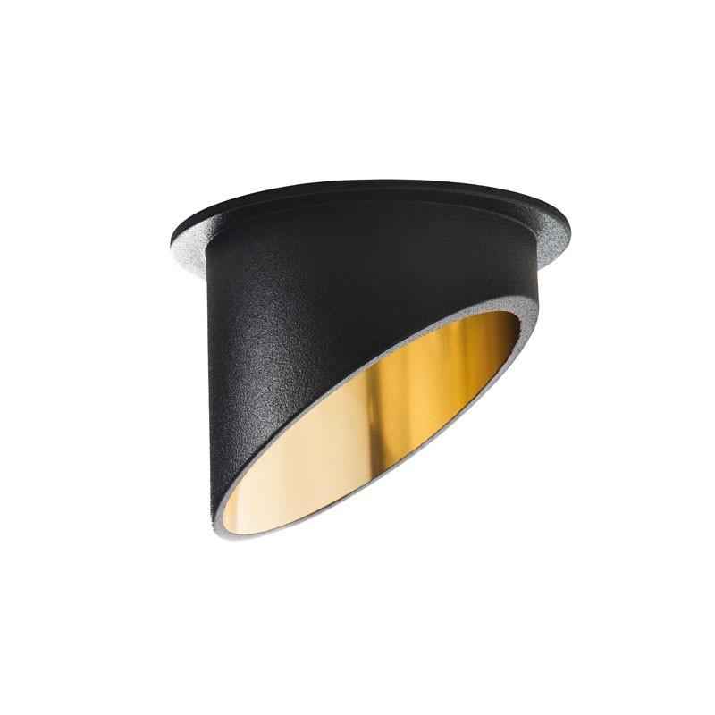 Oprawy-sufitowe - dekoracyjna oprawa sufitowa czarno-złota max 35w spag c b/g kanlux firmy KANLUX