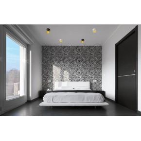 Oprawy-sufitowe - dekoracyjna oprawa sufitowa czarno-złota max 35w spag c b/g kanlux