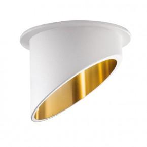 Oprawy-sufitowe - dekoracyjne oświetlenie sufitowe biało-złote spag c w/g kanlux