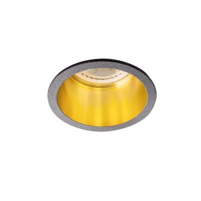 Oprawy-sufitowe - sufitowa oprawa punktowa aluminium czarno-złota max 35w spag d b/g kanlux
