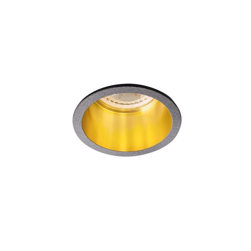 Oprawy-sufitowe - sufitowa oprawa punktowa aluminium czarno-złota max 35w spag d b/g kanlux firmy KANLUX