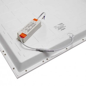 Panele-led - panel led w kolorze białym 48w z neutralnym światłem 4000k ip44 hugo led d 03720 ideus