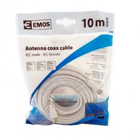 Kable-antenowe - przewód abonencki ekranowany prosty 10m emos - 2334130100