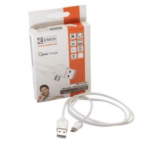 Kable-usb - biały metrowy kabel do usb sm7004w emos