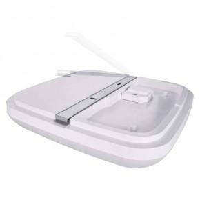 Plafony - oprawa led kwadratowa dori 18w ip54 ciepła biel emos - 1539041070