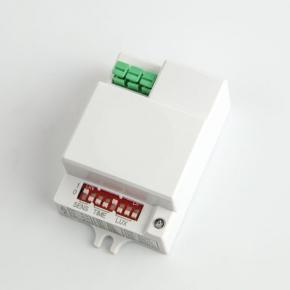 Czujniki-ruchu - biały czujnik ruchu mikrofalowy 1200w ses74wh bemko