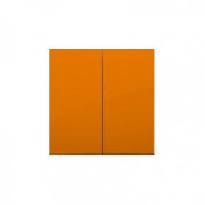 Klawisz podwójny do łączników i przycisków pomarańczowy DKW5/32 Simon 54 Kontakt-Simon