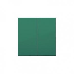 Klawisz podwójny do łączników i przycisków zielony DKW5/33 Simon 54 Kontakt-Simon