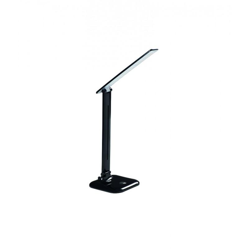 Lampki-biurkowe - lampka biurkowa led dosan led b 4000k max 9w czarna kanlux firmy KANLUX