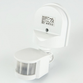 Czujniki-ruchu - biały czujnik ruchu 1200w ses10wh bemko