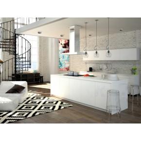Oprawy-sufitowe - dekoracyjna oprawa sufitowa mr16 antracyt/biel elnis l a/w kanlux