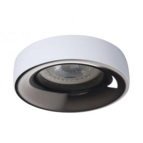 Oprawy-sufitowe - ozdobny pierścień sufitowy biel/antracyt gu10/gx5.3 elnis l w/a kanlux