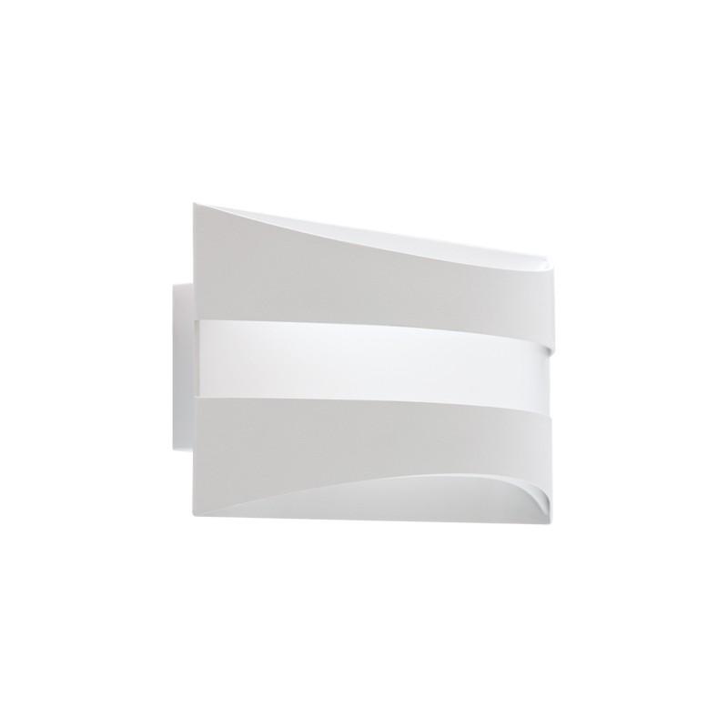 Kinkiety - kinkiet dekoracyjny biały smd led sopran led 6w 4000k 03741 ideus firmy IDEUS - STRUHM