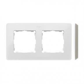 Ramka podwójna biała 8200620-029 Simon 82 Detail Kontakt-Simon
