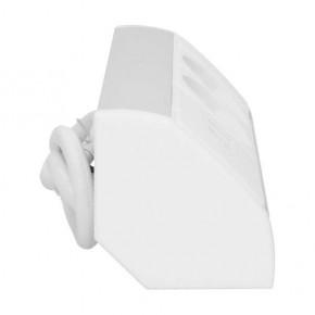 Gniazda-meblowe - gniazdo meblowe podszafkowe biało-srebrne w wersji schuko 2x2p+z+usb or-gm-9003/w-g(gs) orno