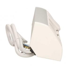 Gniazda-meblowe - gniazdo meblowe z wyłącznikiem biało-srebrne 2x2p+z or-gm-9002/w-g orno