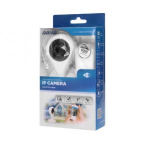 Wideodomofony - kamera monitorująca mini ip wewnętrzna biała cctv 5v dc or-mt-gv-1808 orno