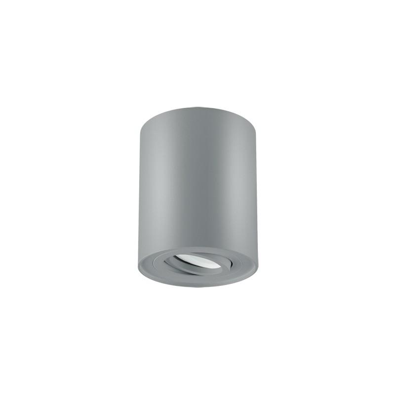 Oprawy-sufitowe - dekoracyjna oprawa sufitowa srebrna hary c gu10 03712 ideus firmy IDEUS - STRUHM