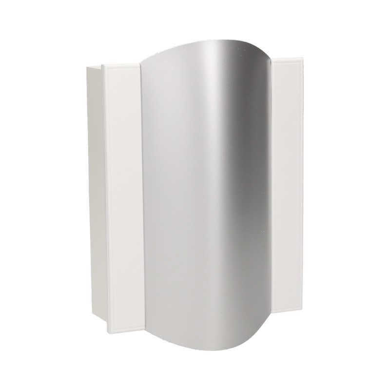 Dzwonki-do-drzwi-przewodowe - dzwonek przewodowy do drzwi dwutonowy bim-bam srebrny 230v or-dp-vd-144/w-g orno firmy ORNO