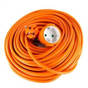 Przedluzacze-elektryczne - przedłużacz ogrodowy 2×1 mm 1 gniazdo 30m pomarańczowy emos - 1901013001