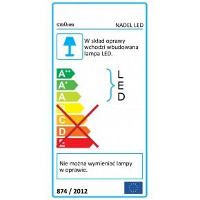 Oswietlenie - liniowa oprawa podszafkowa smd led nadel led 9w 4000k 03729 ideus