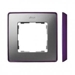 Ramka pojedyncza aluminiowa fioletowa 8201610-254 Simon 82 Detail Kontakt-Simon