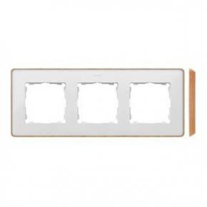 Ramka potrójna biała drewniana 8201630-270 Simon 82 Detail Kontakt-Simon