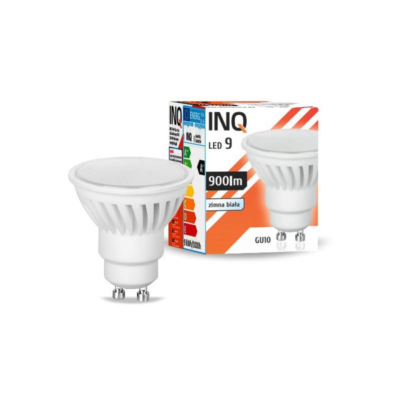Gwint-trzonek-gu10 - żarówka led gu10 9w 900lm gu10 860 ceramiczna inq firmy INQ