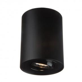 Oprawy-sufitowe - nowoczesna oprawa sufitowa czarna ozzo n/t ivo 1b/bb tubka ruchoma szczotkowana ozzo