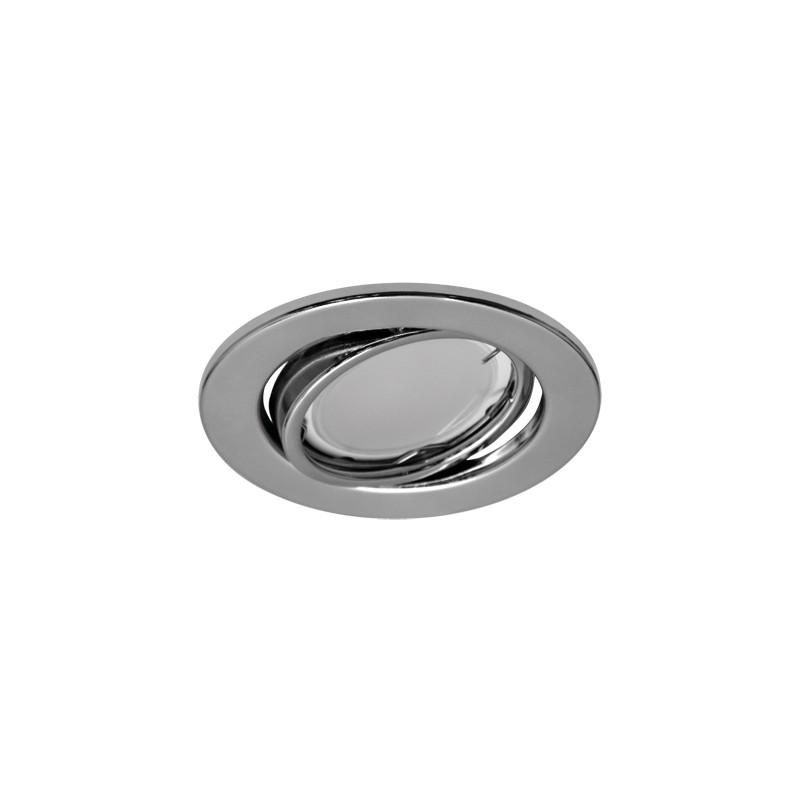Oprawy-sufitowe - ruchoma punktowa oprawa sufitowa kajka c chrome 03751 ideus firmy IDEUS - STRUHM