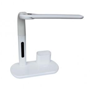 Lampki-biurkowe - lampka biurkowa led biała z przybornikiem 4,5w 350lm 3000-5000k px020 mati nilsen