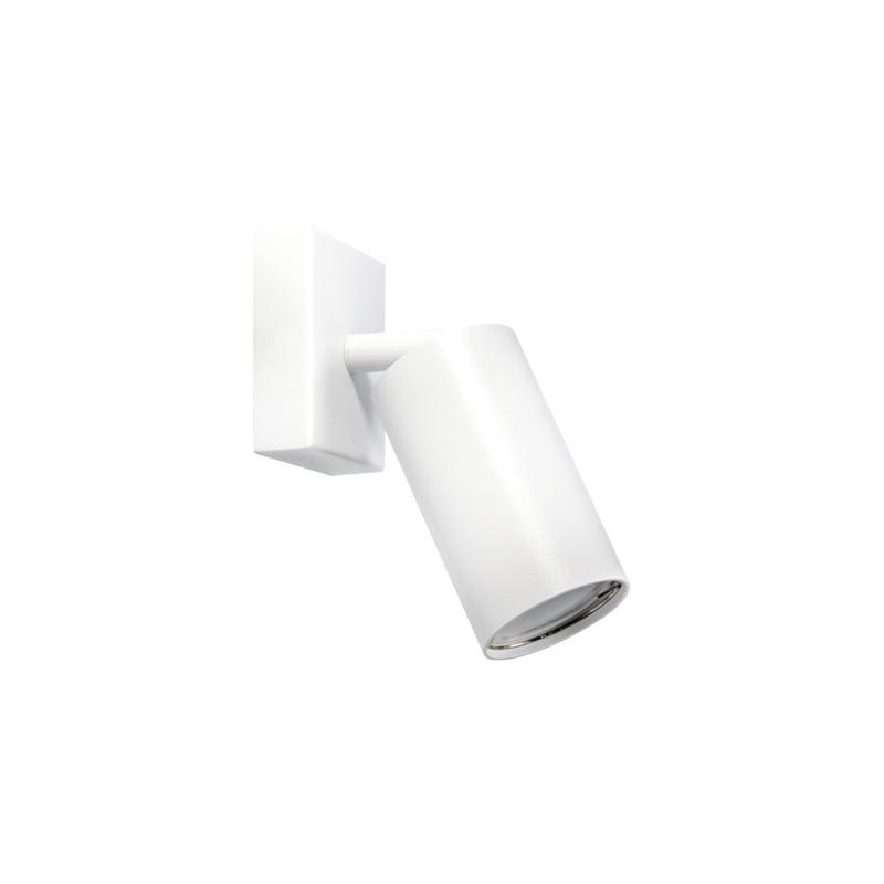 Oprawy-sufitowe - ruchoma oprawa ścienno-sufitowa biała manam gu10 1d ideus firmy IDEUS - STRUHM