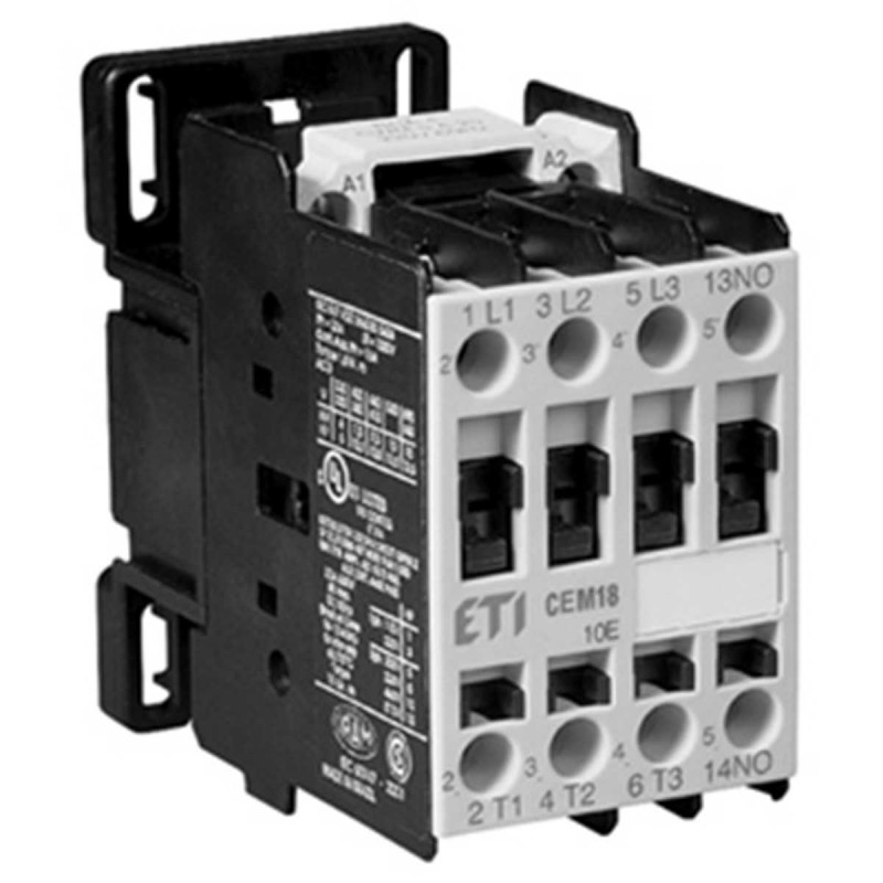 Styczniki - stycznik powietrzny cem18.10-24v-dc eti firmy ETI